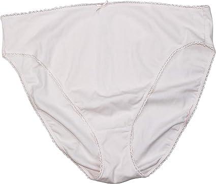 Charter Club Bragas de Bikini de algodón de Colores sólidos e íntimos, de la Marca Rosa - Small: Amazon.es: Ropa y accesorios