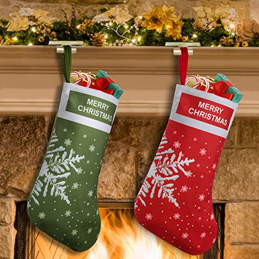 XMAS STOCKING Silver Santa WHOLESALE Snowman DELUXE Sack BULK BUY