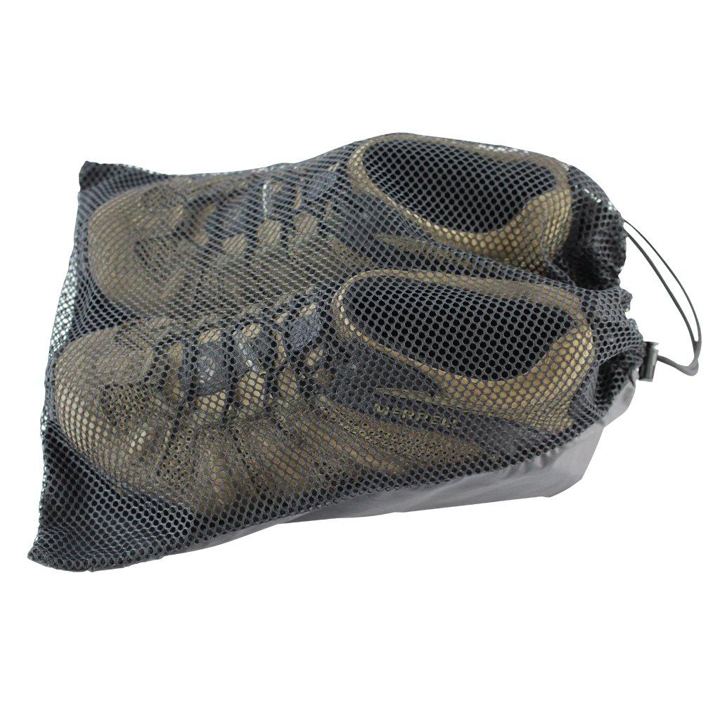 SGT KNOTS Mesh Shoe Bag Made in USA (11''x14'' - Black)