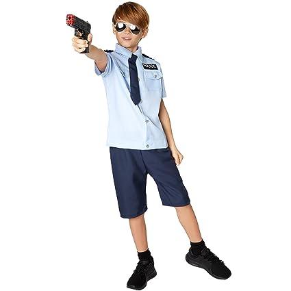 TecTake dressforfun Disfraz de Niño Policía | Camisa Muy Bonita ...