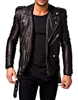 Amazon.com: MILWAUKEE LEATHER Men's Classic Side Lace Police Style ...