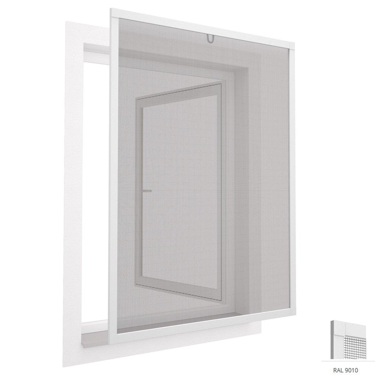 easylife 000-2011 - Mosquitera para ventanas (100 x 120 cm, con marco de aluminio): Amazon.es: Bricolaje y herramientas