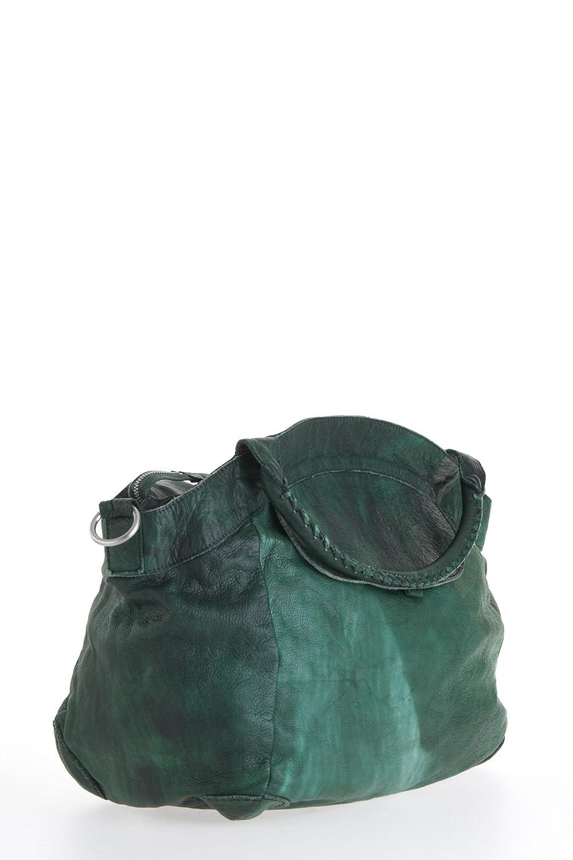 68c156bb3824 Liebeskind Berlin Tasche Model  GESA 2D, Color DARKGREEN  Amazon.de   Bekleidung