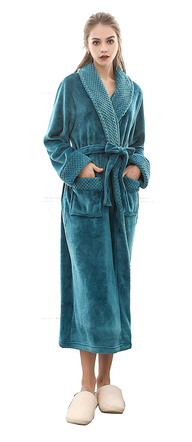 Men Towelling Robe Terry Towel Bathrobe Dressing Gown Bath Perfect for Gym Shower Spa Hotel Robe Holiday