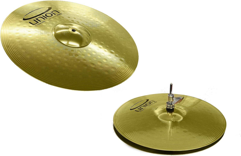 """Zildjian Cymbal 3-Pack 13/"""" Hi-Hat set /& 18/"""" Crash//Ride Made in USA drum cymbals"""
