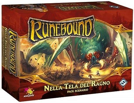 Asmodee Italia- Runebound expansión en Tela de araña Juego de Mesa con espléndidas miniaturas, Color, 9061: Amazon.es: Juguetes y juegos