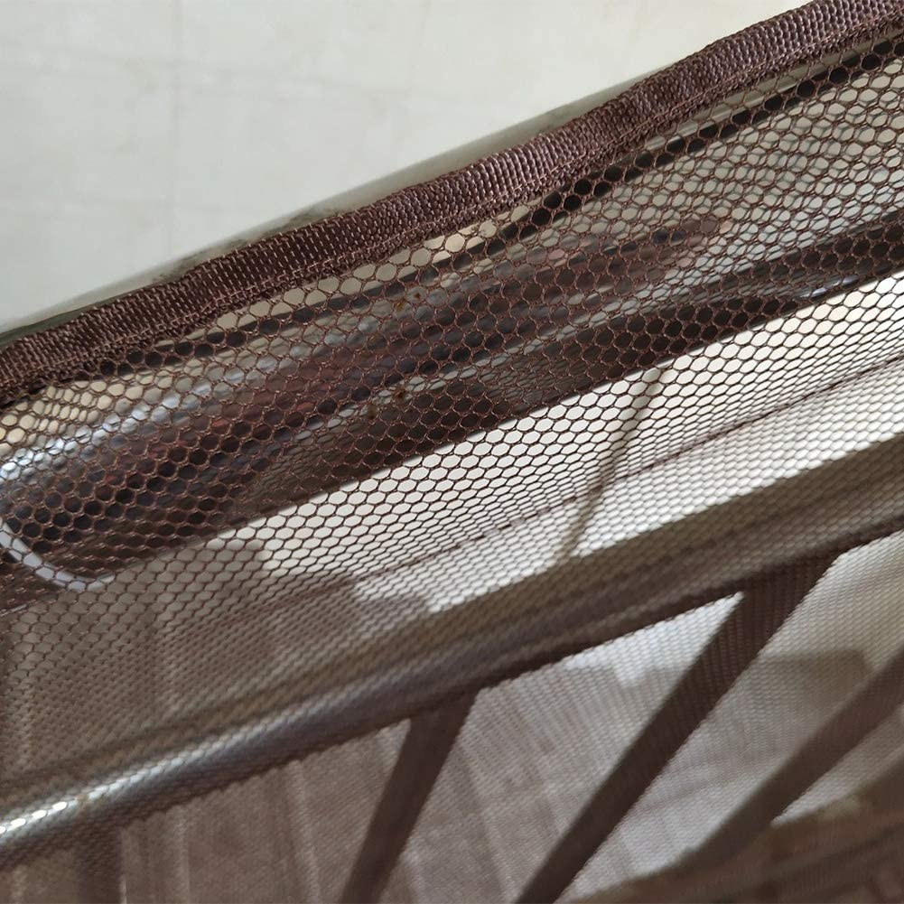 Marron Enfants Escaliers pour Animaux Garde-Corps Pr/évention des Accidents Mesh Indoor /& Outdoor Wifehelper 3 M/ètres Balcon Filet de S/écurit/é