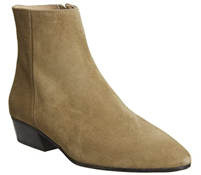 5795c00f33b9 Office Andalucia- Casual Low Heel Boot Tan Suede - 7 UK  Amazon.co ...