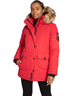 84d0183961f Superdry Antarctic Explorer Down Parka: Amazon.co.uk: Sports & Outdoors