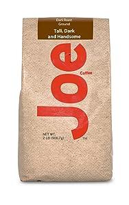 Joe Knows Coffee Tall and Handsome Dark Roast Ground Coffee, 2 Pound