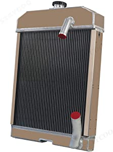 CoolingSky 3 Row All Aluminum Radiator for Ford/New Holland Tractor 501 600 601 641 700 701 800 801 841 861 901 2000 4000
