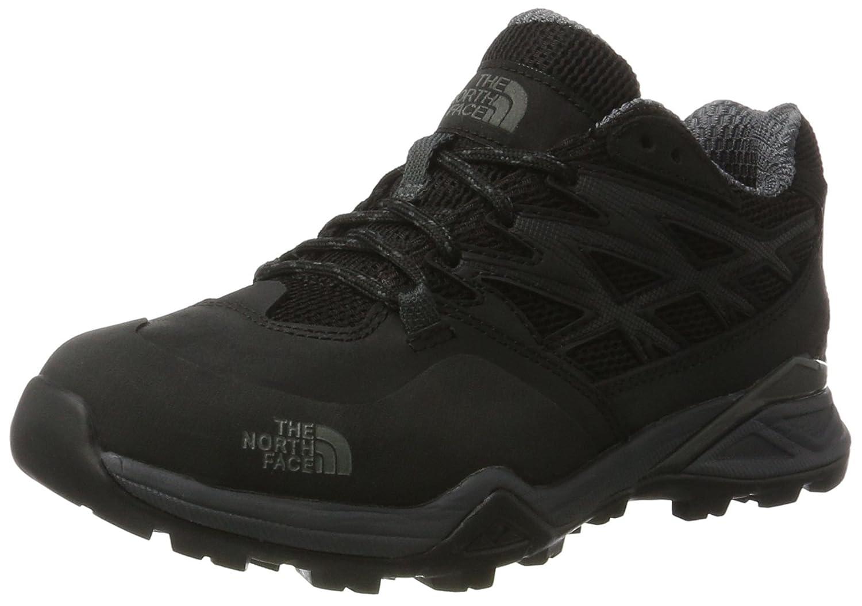 Womens The North Face Hedgehog Hike Gore Tex Hiking Waterproof Sneakers B01N4UF8R0 6 B(M) US|Black/Black