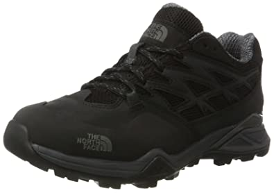 The North Face Womens Hedgehog Hike Gore Tex Hiking Waterproof Sneakers - Black/Black -