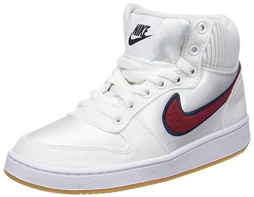 Nike Wmns Ebernon Mid Prem, Zapatos de Baloncesto para Mujer: Amazon.es: Zapatos y complementos