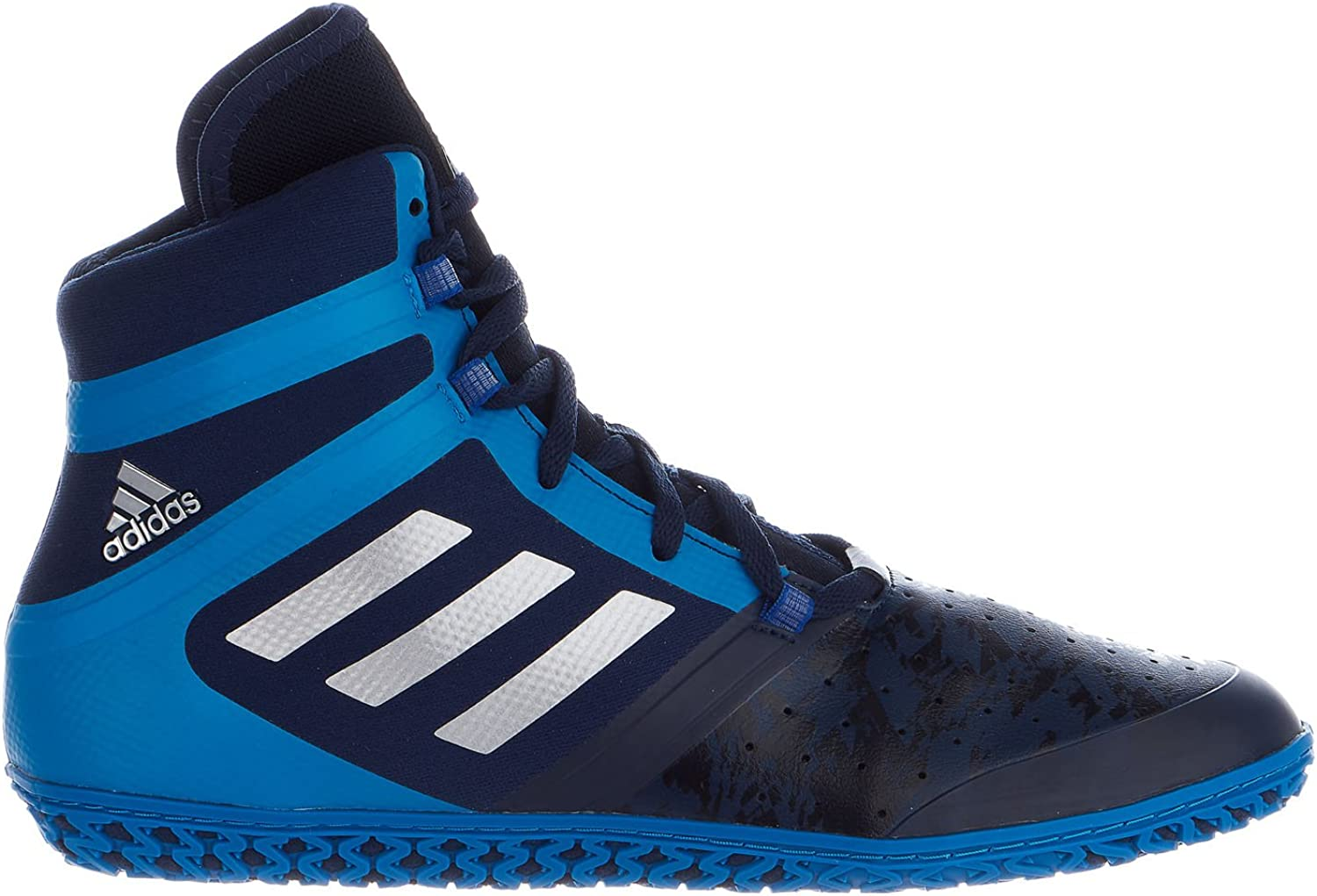 adidas Impact Wrestling Shoes - Navy/Silver/Royal - 11.5 71BK5VDS6pLUL1500_