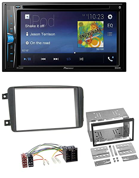 Pioneer a200bt USB DVD 2DIN Bluetooth CD MP3 Radio de coche para Mercedes Clase C Vito