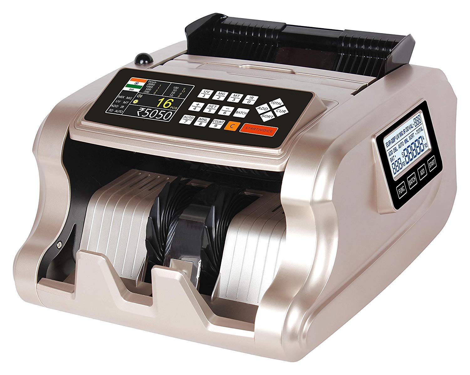 Metis Mix note counting machine