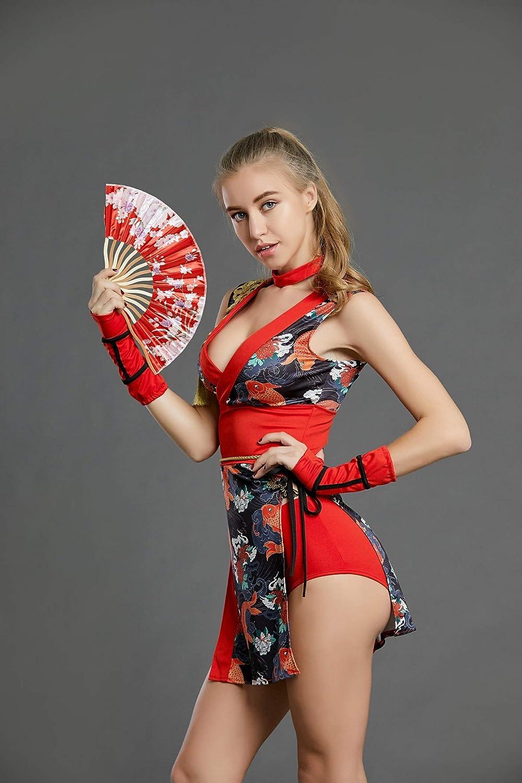 Amazon.com: ORIENTAL RAYS - Kimono para mujer con ventilador ...