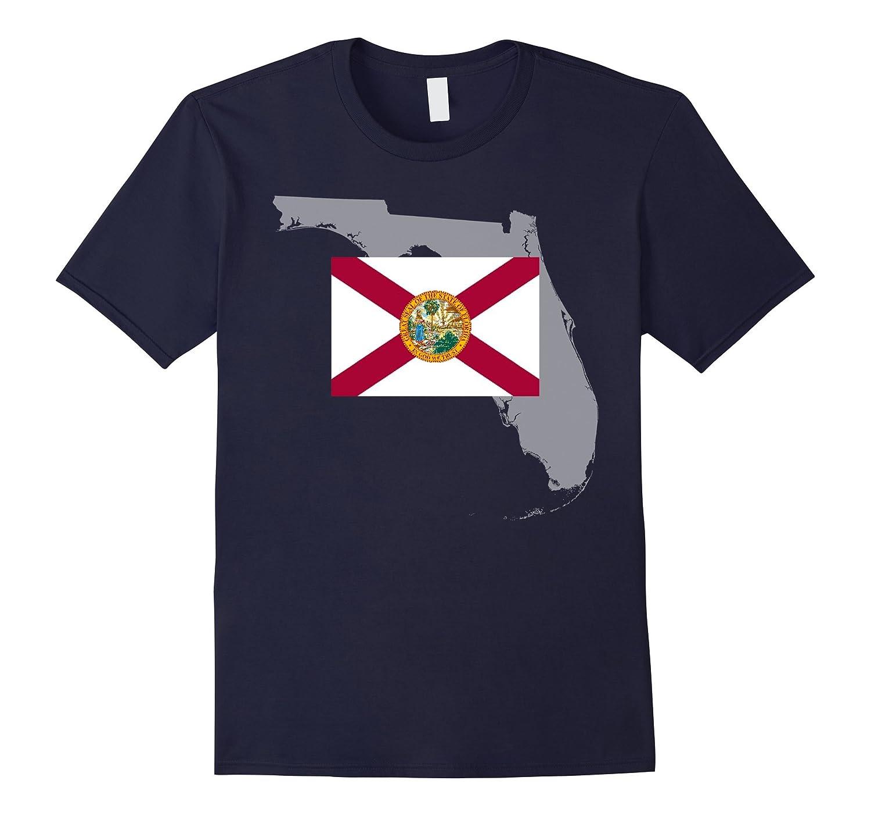 8 Bit Florida State Flag Retro T-Shirt-CD