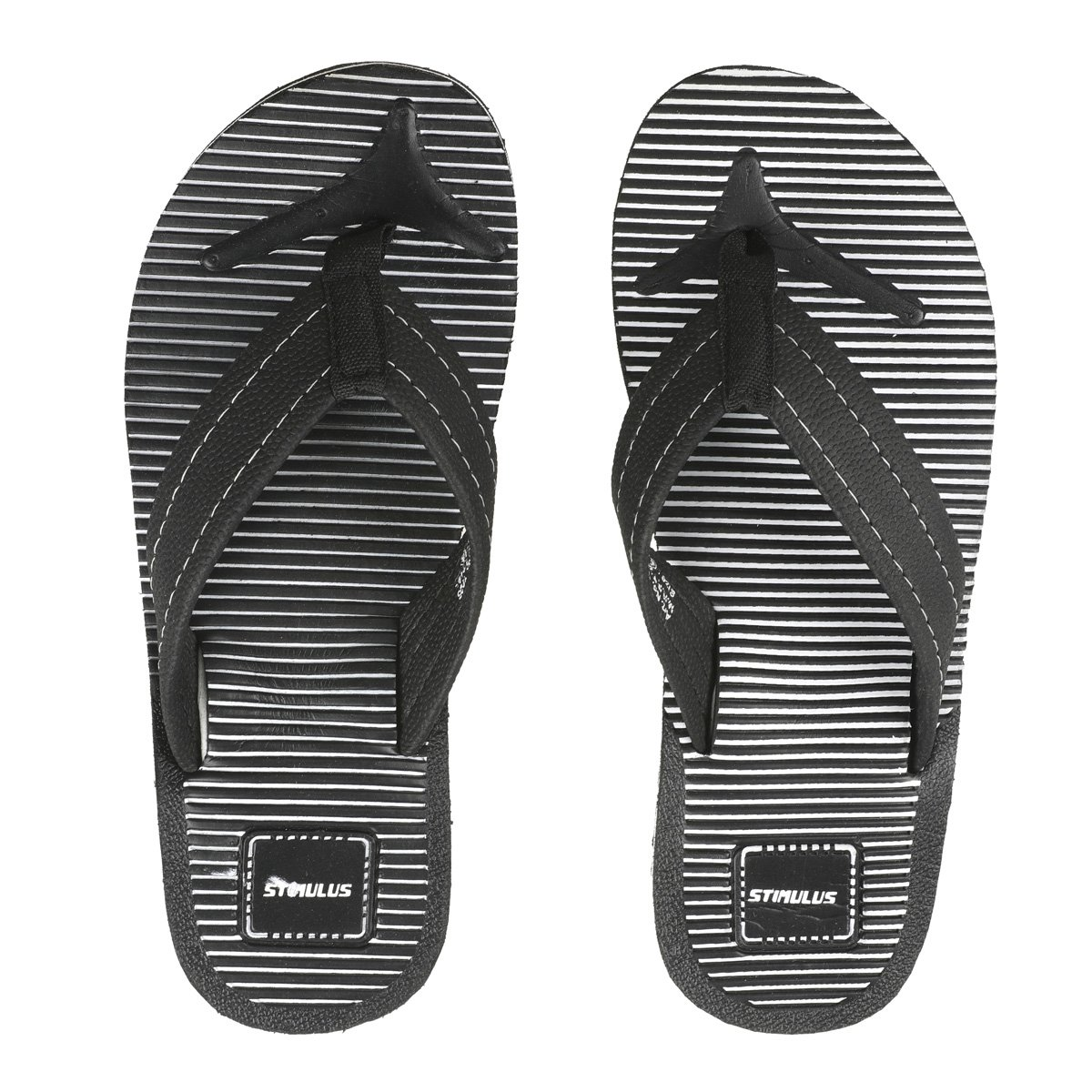 5e57fd1a0734 PARAGON Stimulus Men s Blue Flip-Flops  Buy Online at Low Prices in India -  Amazon.in