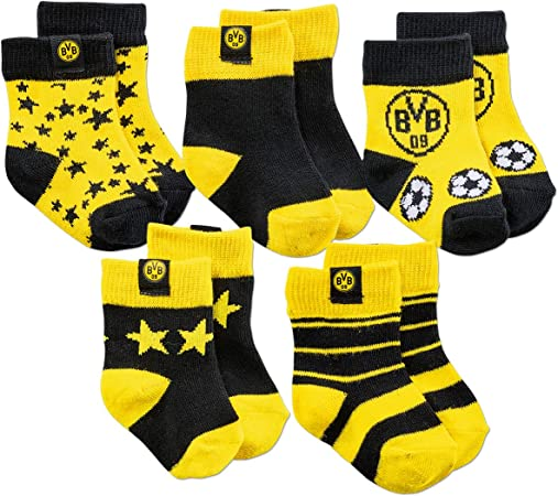 Borussia Dortmund BVB Pantofole per bambini Abbigliamento Sport e ...