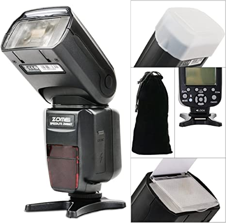 Zomei zm860t Pantalla LCD Auto Linterna Flash Speedlite TTL para ...