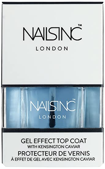 Amazon.com : NAILS INC Gel effect top coat with Kensington Caviar ...