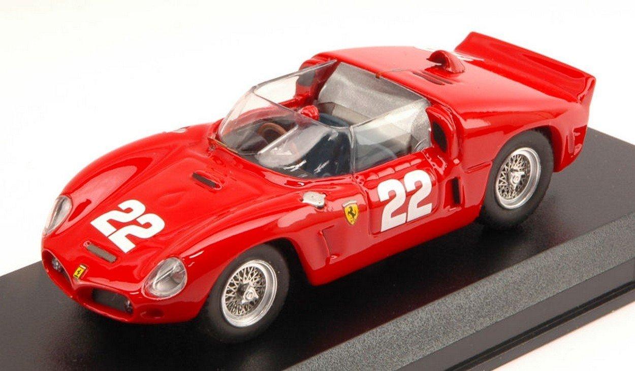 Art-Model AM0260 Ferrari Dino 246 SP N.22 LM Test 1961 VON Trips 1:43 DIE CAST