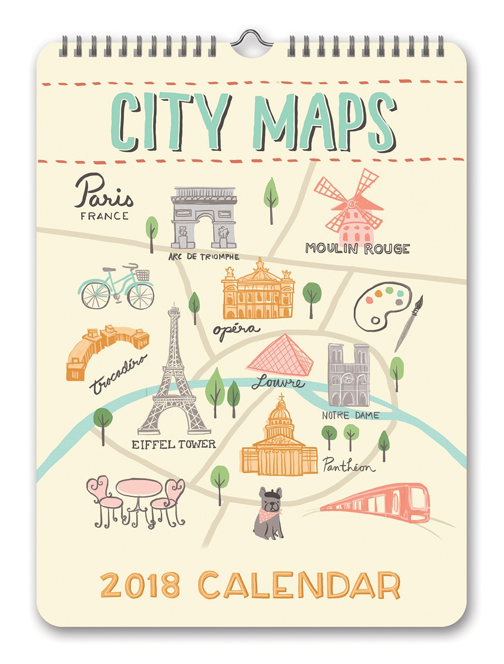 Orange Circle Studio 2018 Mini Poster Wall Calendar, City Maps: Orange  Circle Studio, Anne Was Here: 9781682581940: Amazon.com: Books