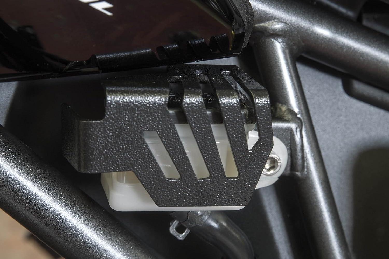 Honda Africa Twin Adventure Sports ORIGINAL /& Brand Ro-Moto Rear brake reservoir guard cover compatible for Honda CRF1000L Africa Twin 2018-2020