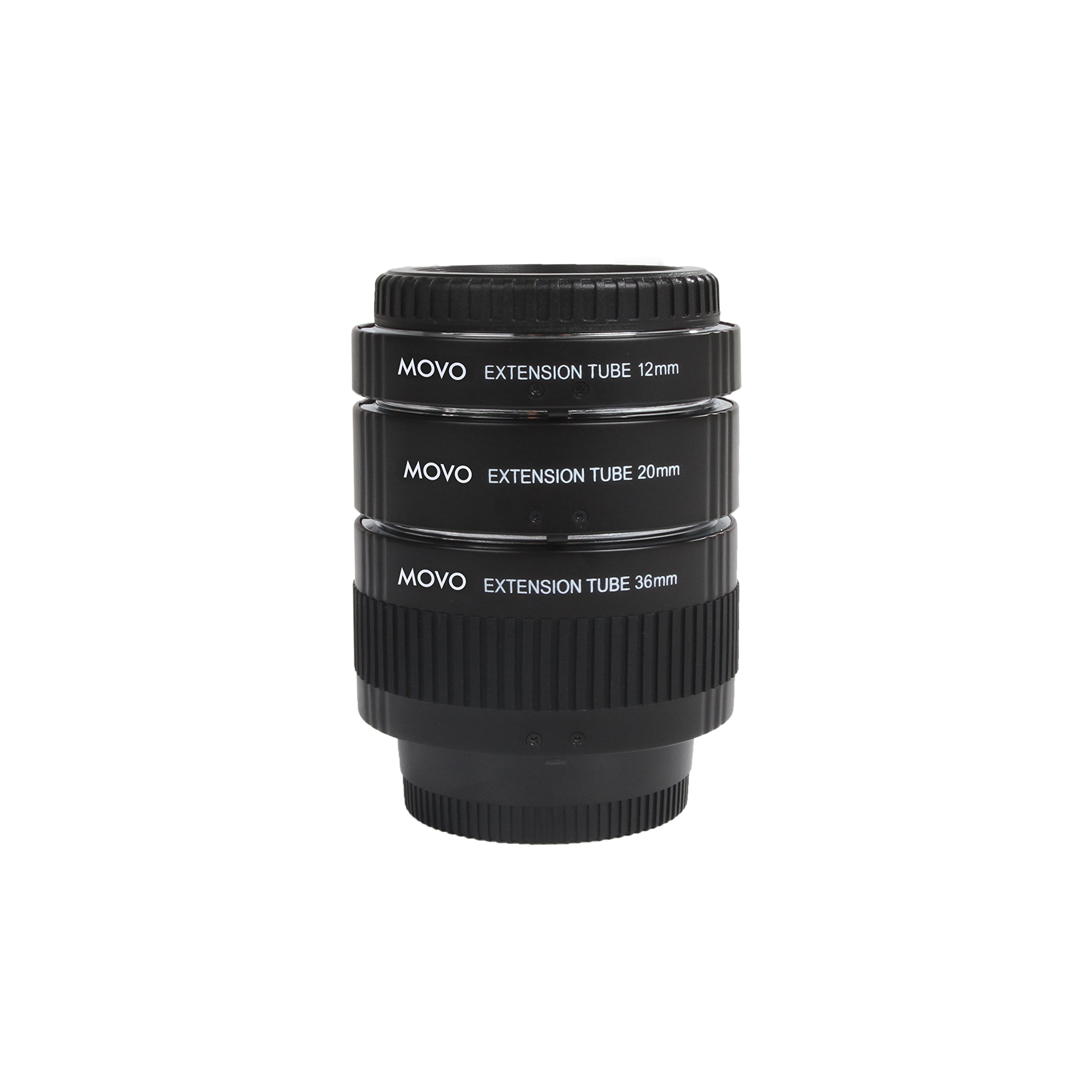 Movo Photo AF Macro Extension Tube Set for Nikon DSLR Camera with 12mm, 20mm & 36mm Tubes (Metal Mount) by Movo (Image #5)