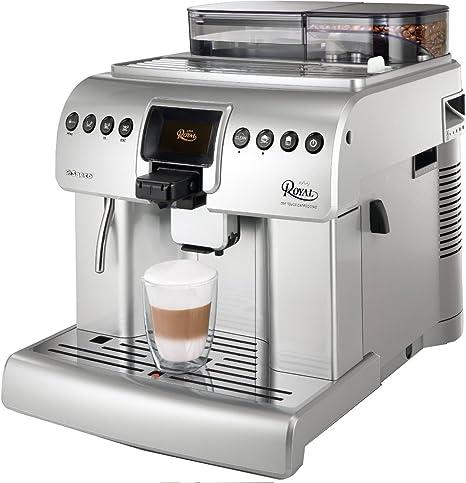 Saeco HD8930/01 - Cafetera de espresso Royal, color plateado [Importado de Alemania]: Amazon.es: Hogar
