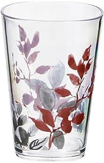 corelle kyoto leaves 8 oz acrylic drinkware glassware set of 6 coordinates