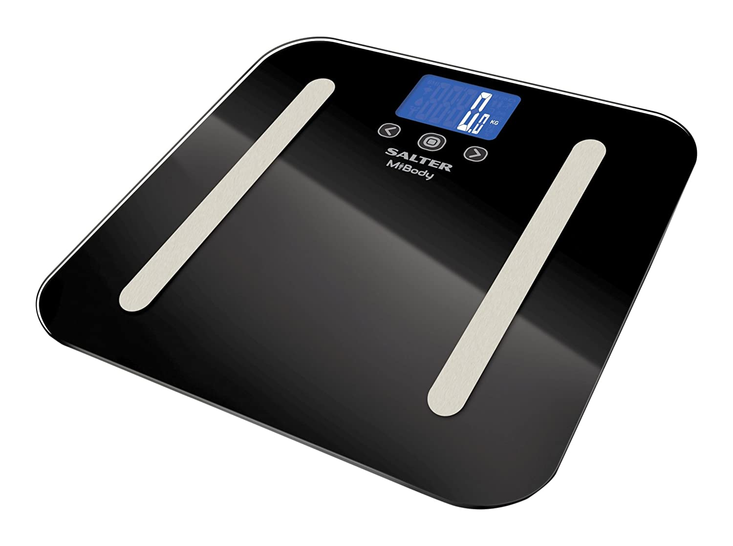 Bathroom scales comparison - Salter Mibody Bluetooth Digital Analyser Bathroom Scales Measure Weight Body Fat Water Muscle Mass Bmi Connect To Your Smartphone Chart Progress With