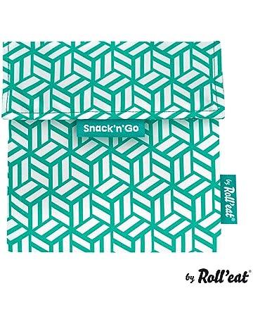 Rolleat - SnacknGo Tiles - Bolsa Merienda Porta Snacks Ecológica y Reutilizable