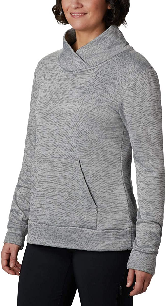 UV Protection Breathable Columbia Womens Place to Place Fleece Pullover
