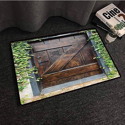 Amazon.com: Rústico Decoración Colección Felpudo ...