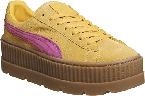 PUMA X Fenty by Rihanna WomensLadies Cleated Suede Creepers