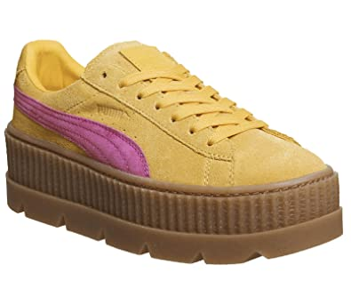 a0070bccd5c8c5 Puma X FENTY CLEATED CREEPER SUEDE WN S JAUNE  Amazon.fr  Chaussures ...