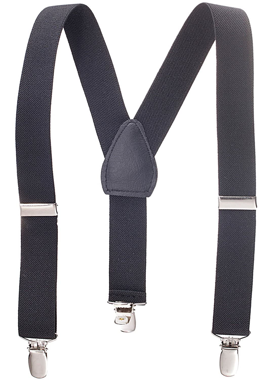 9edc4d1a8daf Amazon.com  Kids and Baby Elastic Adjustable Solid Color Suspenders  (Available in 3 sizes and 27 colors)  Apparel Suspenders  Toys   Games