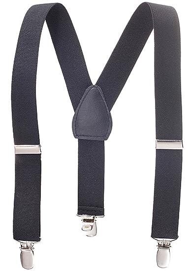 Amazon Kids And Baby Elastic Adjustable Solid Color Suspenders
