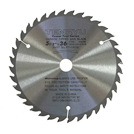Tenryu pt 14036 5 12 carbide tipped saw blade 36 tooth ataf tenryu pt 14036 5 12quot carbide tipped saw blade 36 greentooth Choice Image