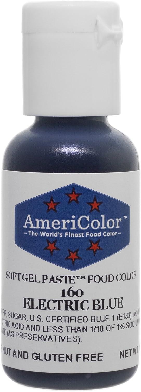 Americolor Soft Gel Paste Food Color, Electric Blue