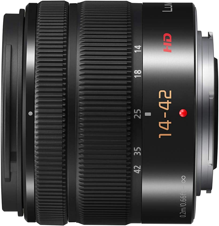 Panasonic H Fs1442aeka Lumix G Vario Stardzoom 14 42 Mm Kamera