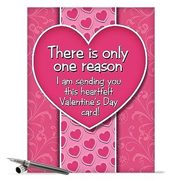 Amazon.com : J2129 Jumbo Humor Valentine\'s Day Card: Jumbo Bitch ...