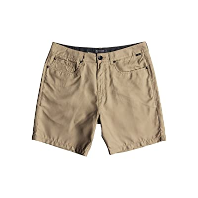 "Quiksilver Men's Nelson Amphibian 18"" Boardshort Walk Short: Clothing"
