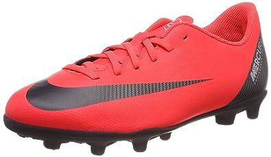 on sale e7944 33530 Nike Jr Vapor 12 Club GS Cr7 FG MG Chaussures de Football Mixte Enfant,