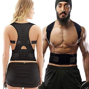 HYX Corrector de Postura Espalda y Hombros para Hombre y Mujer Talla Única - Faja para