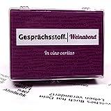 Kylskapspoesi AB 41007 - Gesprächsstoff: Weinabend