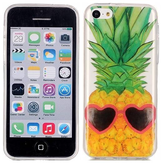 24 opinioni per Voguecase® Per Apple iPhone 5C, Custodia Silicone Morbido Flessibile TPU